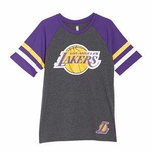 UNK NBA *NWT* LA Lakers Ringer T-Shirt - XL